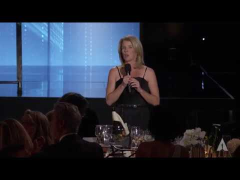 Rory Kennedy honors Frederick Wiseman at the 2016 Governors Awards