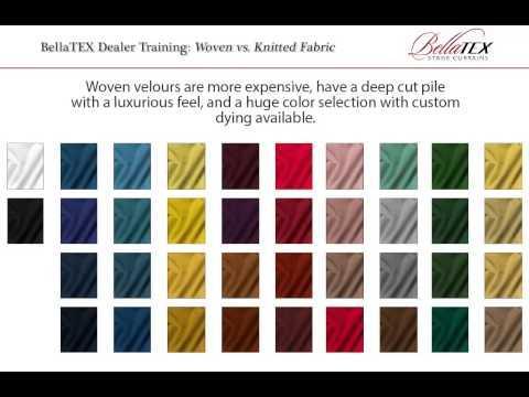 Woven vs. Knitted Velours