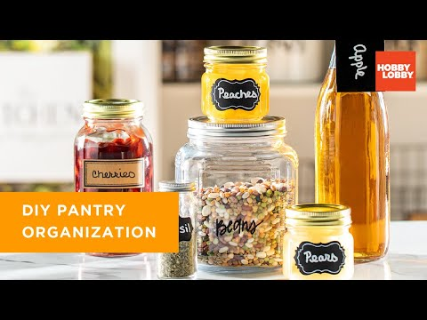 Pantry Organization | Hobby Lobby®