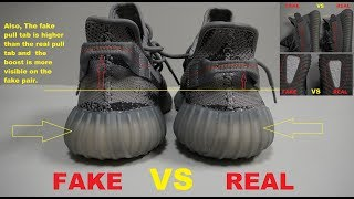 5fa01e019 YEEZY BOOST 350 V2 BELUGA Real Vs. Fake (LEGIT CHECK) Videos - mp3toke