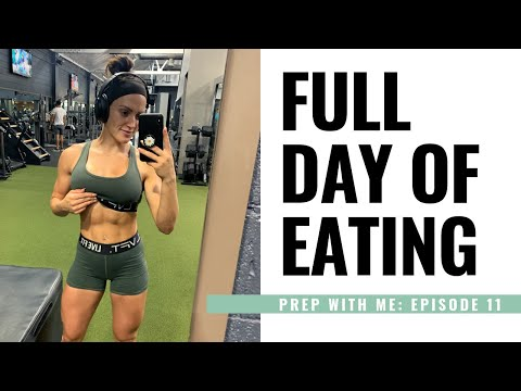 FULL DAY OF EATING ON PREP –Prep With Me Episode 11