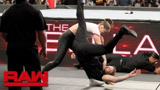 Ronda Rousey rips into The Bellas before destroying their private security: Raw, Oct. 15, 2018