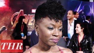 Danai Gurira on 'Avengers: Infinity War' Premiere Red Carpet   THR