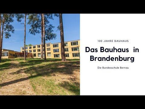 Das Bauhaus in Brandenburg: Die Bundesschule Bernau