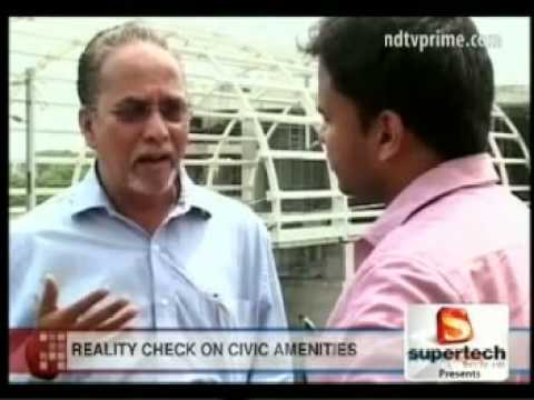 Mr. Anand Sundrasan, VC & MD, SSI on NDTV's The property Show