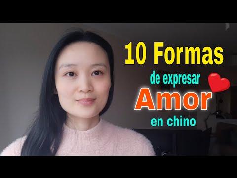 10 Formas de Expresar Amor en chino  Aprender chino, Curso de chino