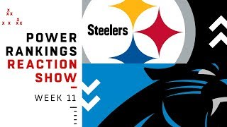 NFL Power Rankings Week 11 Reaction Show: Patriots a Top 5 Team? | NFL Network