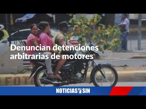 Denuncian detenciones arbitrarias de motores