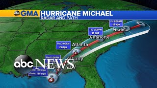Tracking Hurricane Michael as it approaches Florida