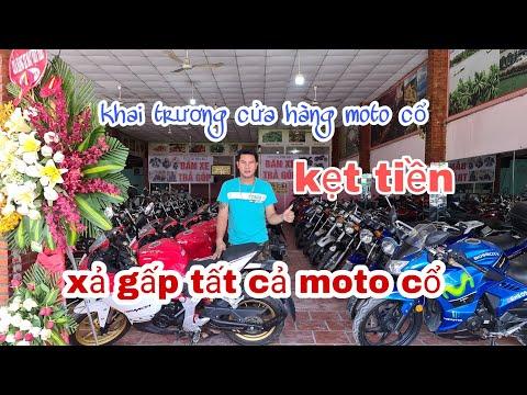 vinh béo khai trương cửa hàng moto cổ,cần tiền gấp xả lô xe giá rẻ dễ đi |Mỹ Motor