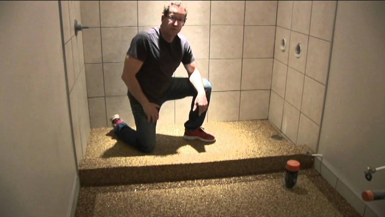 Pebble Stone Flooring Youtube