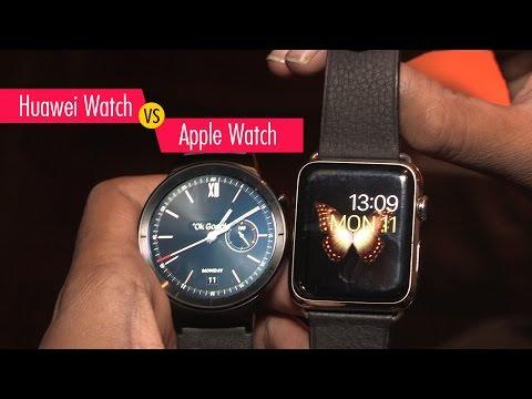 Compare Huawei Watch vs Apple Watch  Digitin