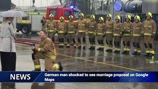 Viral: German man shocked to see marriage proposal on Goog..