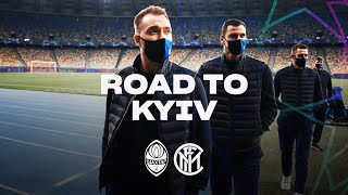 SHAKHTAR vs INTER | ROAD TO KYIV | From Milano to Olympiyskiy! ✈⚫🔵🇺🇦