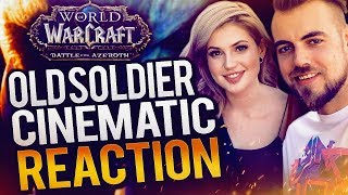 """Old Soldier"" Saurfang Cinematic (First Watch REACTION) World of Warcraft BFA | Method Sco & Djarii"