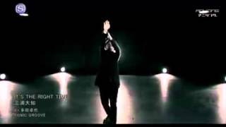 Daichi Miura - It's The Right Time [Official Music Video]
