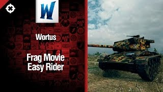 Превью: Танк M24 Chaffee: Easy Rider -  фрагмуви от Wortus [World of Tanks]