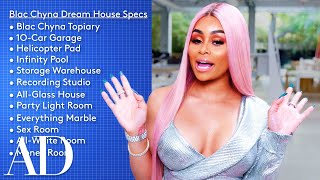 Blac Chyna Designs a Dream House That Has a 10-Car Garage and a Money Room | Architectural Digest