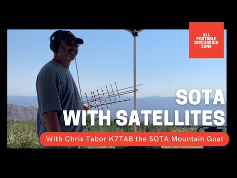 #24 How to make satellite contacts on SOTA activations!