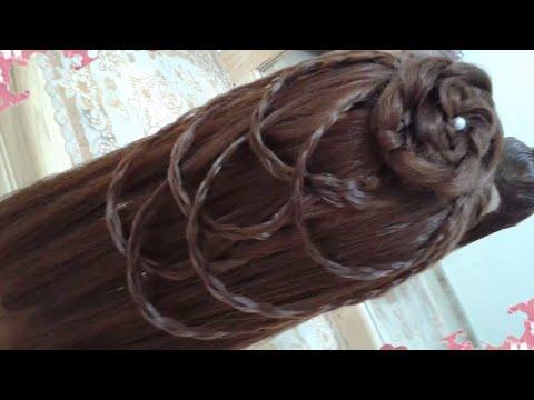 Peinados Con Rosas Sencillos Y Faciles Para Cabello Largo Bonitos Y