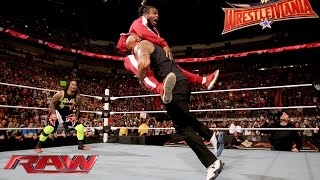 The Rock and The Usos lay the smackdown on The New Day: Raw, Jan. 25, 2016