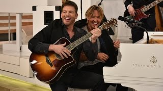 Harry and Keith Urban's Solo Duet!