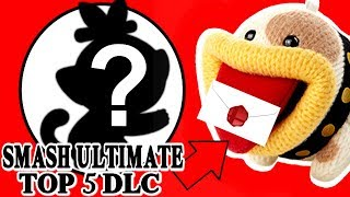 Top 5 Super Smash Bros Ultimate DLC Character Predictions! *NEWCOMER FIGHTERS!*