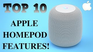 Apple HomePod  - Top 10 HomePod Features!