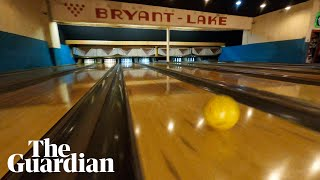 One-take drone video of Minnesota bowling alley goes viral