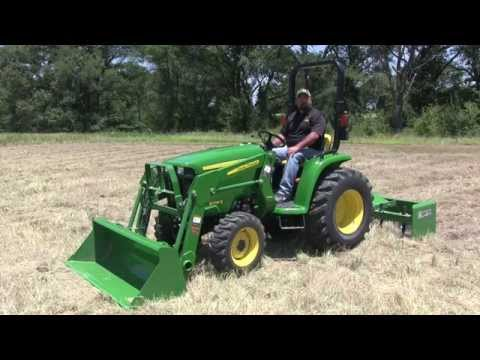 John Deere 3000E Series 4WD Engage and Disengage