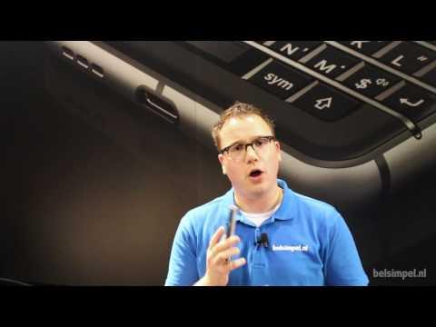 BlackBerry KEYone - Mobile World Congress 2017 (NL)