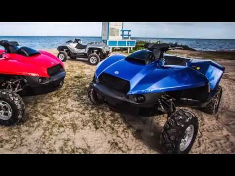 The Gibbs Quadski, the world's first personal sports amphibian.