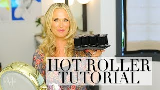 Modern Hot Rollers Tutorial for Tons of Volume