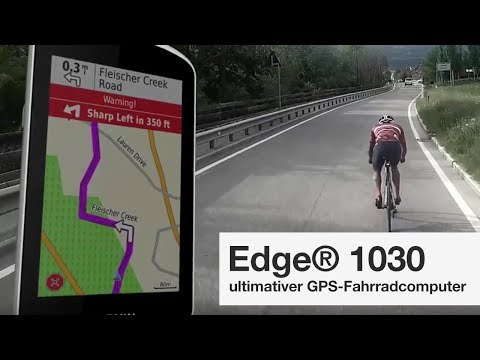 Garmin Edge® 1030 - ultimativer GPS-Fahrradcomputer für Experten