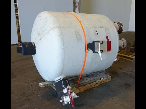 Used- Letsch/Precision Stainless Inc Tank - stock # 48548001