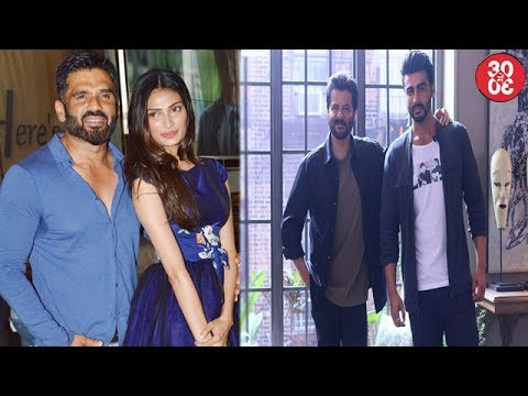 Athiya Shetty Seeking Dad Suniel's Help | Varun,Ranbir,Arjun,Sonam Call Anil Kapoor 'AK'