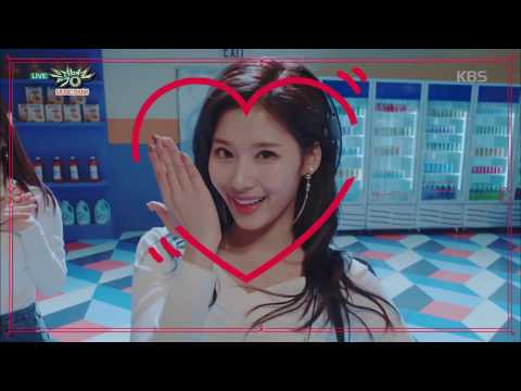 뮤직뱅크 Music Bank - Heart Shaker - 트와이스 (Heart Shaker - TWICE).20171215