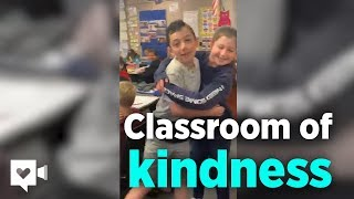 4th Graders Have Amazing Reaction To Classmate Revealing He Has Autism | Humankind