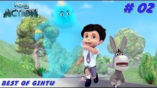 Best of Gintu - Part 2   Vir the Robot Boy   Mixed Gags for kids   WowKidz Action