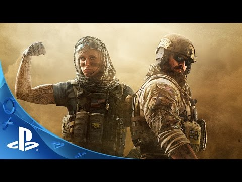 Tom Clancy's Rainbow Six Siege Trailer