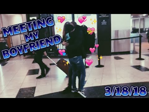 Meeting My Boyfriend For The First Time | Zach & Sarah ♡