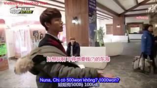 [Vietsub] SJM Guest House - Donghae muốn chơi bóng rổ ~ Eunhae - Supper Junior