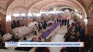 Daruri pentru familiile nevoiase din Baia Mare