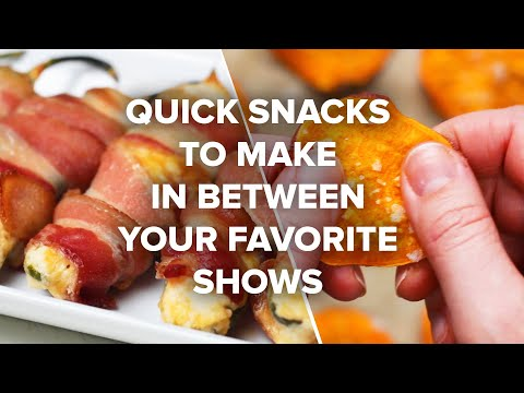 Quick Snacks You Can Make In Between Your Favorite Shows ? Tasty Recipes