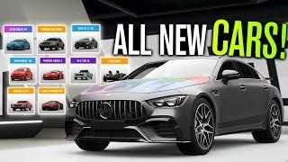 ALL NEW CARS in Forza Horizon 4 (Update 8, AMG GT 4-Door, 599XX E & Drift Adventure)