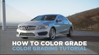 How to color grade (Adobe Speedgrade)