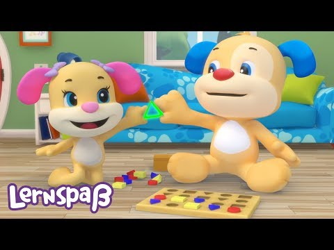 Das Puzzle Lied   Lernspaß   Fisher-Price Deutsch   Kinderlieder   Cartoons für Kinder