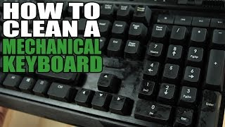 How to Clean a Mechanical Keyboard