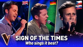 Harry Styles' SIGN OF THE TIMES in The Voice?  | Who sings it best? #5