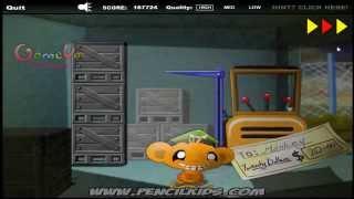 Hướng dẫn chơi game Chú khỉ buồn 5
